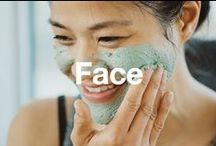 Face / Everything you need to keep your skin in tip top shape: cleansers, moisturizers, masks, toners, serums, and more!