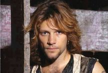 Jon / I was only 11 or 12 the first time I heard/saw Bon Jovi and their Silent Night video. 28-29 years later I still live their look and music! / by Megan Giesler-Wooters