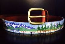 Needlepoint Belts / Cool Needlepoint Belt Ideas