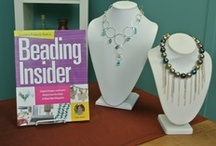 "Beading Insider / ""Jewelry Projects from a Beading Insider"" shares 150+ tips that make beading easier. Author Cathy Jakicic gives you the inside scoop on beading! / by Kalmbach Jewelry Making"