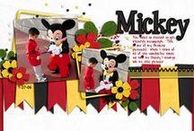 Disney Scrapbook Page Ideas