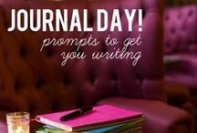 A Journal of Life / Journal prompts, tools and tips for making the best of writing each day.