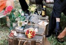 Wedding Accent Decor Ideas / Hudson Valley Weddings, Catskills Weddings / Inspiration from Hudson Valley Vintage Rentals. Rustic Weddings, Vintage Weddings, Boho Weddings, Eclectic Weddings, Country Weddings.