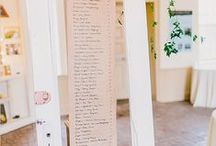 Escort Card Display, Seating Assignment Inspiration / Hudson Valley Weddings, Catskills Weddings / Inspiration from Hudson Valley Vintage Rentals. Rustic Weddings, Vintage Weddings, Boho Weddings, Eclectic Weddings, Country Weddings.