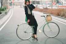 bicycles / being a big city girl I always loved riding my bike instead of using public transportation. I just bought a new vintage bike and am looking so forward to turn it into a stylish fellow.