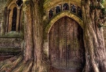 Portals / Doorways and paths into Otherworlds. / by Kel Fae