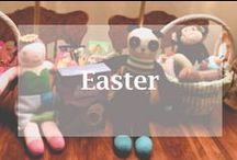 Easter / Egg dyeing, decorations, baskets, and more Easter celebration ideas.