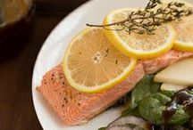 Seafood/Lenten Meals~ / Meatless, seafood or Lenten recipes / by That Skinny Chick Can Bake!!!