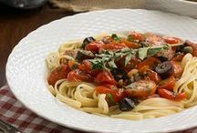 "Pizza, Pasta & Italian Recipes / Tempting pizza,pasta and Italian recipes! Perfect inspiration for your inner ""Italian."""