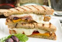 Sandwich Recipes / Irresistible sandwich recipes from grilled cheese to BLT's to panini!