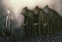 John Bauer  1882 – 1918, Swedish Illustrator / by Kel Fae