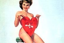 Vintage Pin Ups / We LOVE pin ups at Dr.Lipp - here's the best of them!