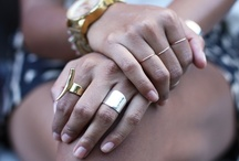 J E W E L S / My taste in jewelry.