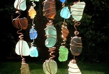 Windchimes Suncatchers Mobiles & String Curtains / Mostly windchimes, mobiles and string curtains can be made using same materials and to match the windchime. / by Holly S.