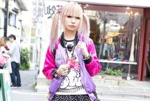 Japanese street fashion / by Rachel