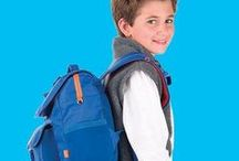 Signature Collection / Introducing the Signature Collection. This bright assortment of backpacks and lunchboxes makes any kid stand out with a clean, classic style. www.Bixbee.com