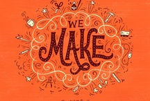 Type / Lettering / Design / Typography, calligraphy and logos that I admire and get inspire by / by Joy Kelley of HowJoyful