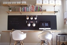 Office/Craft room / Inspiration for my office/craft/sewing room. / by Joy Kelley of HowJoyful
