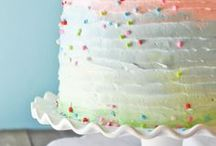 Her special day / Every girl needs at least one fabulous rainbow party!