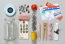 Packaging, tape & stamps / by Daniela Matos