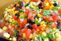 Salsas, Sauces and Dips / by Elisabeth Kisselstein