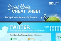 Cheat Sheets / Awesome Social Media Inforgaphics. For social media tips & articles please visit my blog at thesocialclique.wordpress.com
