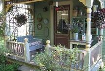 Porches and sunrooms / A house with a welcoming porch is a special house! PLEASE pin politely!!!!
