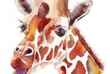 Giraffe / Tall and proud. / by Kya O