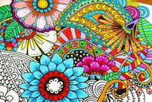 Mindful Mandala / Mindfulness meditation through drawing the beautiful forms of the Mandala.