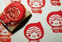 Stamp / Ink stamps and ideas for my own. :D / by Kya O