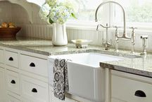 Dream Kitchens / Ideas for kitchen remodeling and organization / by Shelly Larson Reuter