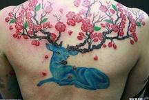 Tattoos/ Deer
