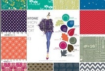 Pantone Colors of 2013 / following the color trends of fall/Winter 2013 / by Two Branching Out