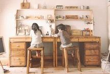 For the Future Kiddos | Rooms / Creative, calming spaces for kids. / by Abigail Lueders