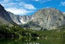 Colorado Hikes / Colorado is known for the outdoors, and the amazing hikes that you are sure to enjoy. / by Swingle