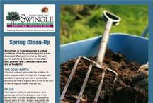 Seasonal Tips / Every season brings its own projects for the garden. Here are some timely tips for your lawn and gardening. / by Swingle