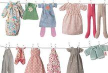 Doll cloths - Sewing