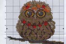 cross stitch owl / cross stitch owl