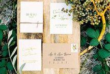 Wedding:: Stationery