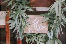 Wedding:: Signage