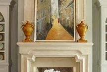 Cozy Fireplaces / Fireplaces in homes built by Shane McFarland Construction