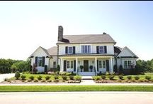 Beautiful Farm House Style Home / Home built by Shane McFarland Construction in The Grove.   #mcfarlandbuilds