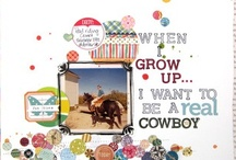Scrapbooking Inspiration / by Jennifer Larson