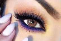 EYES / Here are the latest makeup trends and tips to glam up your eyes. Click the link below each photo to learn more and get step-by-step how-tos. / by Total Beauty