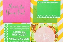 {Wedding} Pink & Green Theme / Ideas for a Lilly inspired wedding with a pink and green theme!