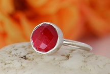 Ruby Red / by Danique Jewelry