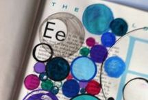 Art journal inspiration / Ideas, examples and inspiration for art journaling and mixed media art.   / by Amanda Hooley