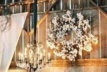 rustic~romantic barn wedding / by glaamaa💗
