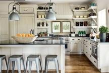I'm dreaming of a white kitchen / by Kara Wolf-Hoodak