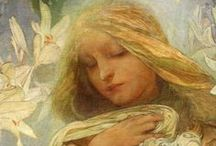 Art-Alphonse Mucha / by Laurie Newell